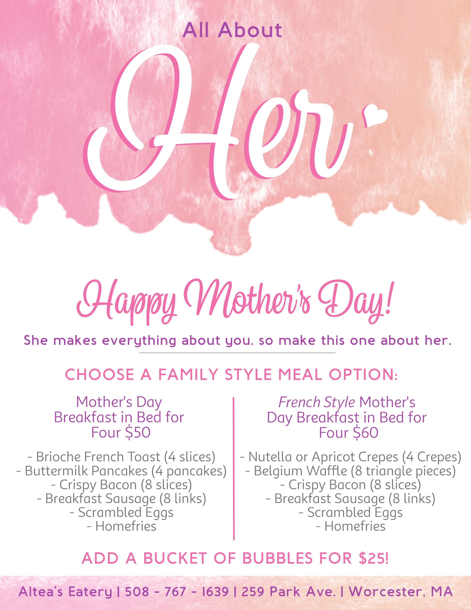 Altea's Mother_s Day!